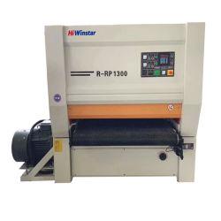 R-RP1300 tres jefes de la Carpintería ancho cinturón de lijar el suelo de madera de la máquina máquina lijadora