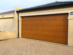 Commerce de gros coffre porte de garage sectionnelles de beauté