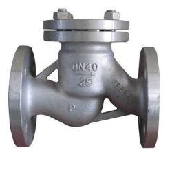 La cera persa ha lanciato la valvola di ritenuta dell'acciaio inossidabile per i montaggi meccanici