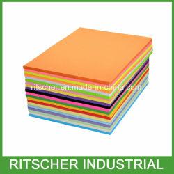 Fsc A3 A4 du papier copie couleur du papier offset papier d'impression papier à écrire dans l'École de fournitures de bureau de la papeterie de bureau d'alimentation papier papeterie scolaire Papeterie