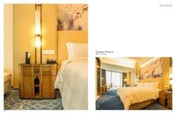 Quarto de hotel moderno conjunto de móveis