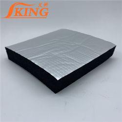 L'isolant de caoutchouc mousse feuille à feuille en aluminium