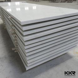 Внутренних Дел Kingkonree настенные панели 6мм акрилового волокна твердой поверхности листа
