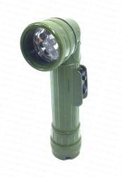Toorts van de Hoek van de Kleur van het leger de 2D Plastic 9LED met Kleurrijke Lens