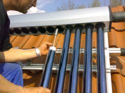 Comitato termico solare evacuato del collettore del tubo