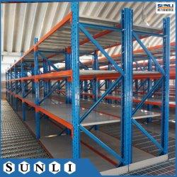 Estantes Longspan Depósito Garagem rack de metal de armazenamento de 2m X 4m x 0,6m
