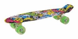 Quatre roues PU LED Penny Skateboard avec l'impression JC-003
