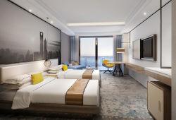 주문을 받아서 만들어진 파이브 스타 현대 디자인 호화스러운 침실 가구 호텔