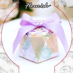 Romántica Boda Favor Bridemaid Caja de papel de embalaje de regalo