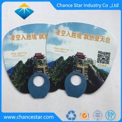 Kundenspezifischer Plastikhandventilator, Handventilator-Zoll gedruckt für Geschenk