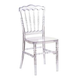China Produce Factory Gold Silver Wedding Chair