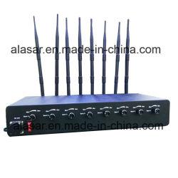 الطاقة إشارة لاسلكية لهاتف محمول GPS WiFi بقدرة متوسطة قابلة للضبط Jammer/Exam Jammer/School Jammer