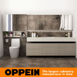 Almirah 전체 욕실은 PVC 목욕 캐비넷 베니티 디자인을 하고 있습니다