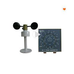 タワークレーンデジタル 3 カップ風速度インジケータ風速計 建設安全装置