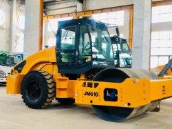10 Ton vibratório de tambor único rolo de estrada do Compactador Rodoviários Jm610