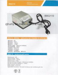 Heavy Duty portatif électrique du moteur de rôtisserie barbecue