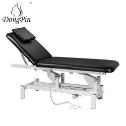 Salonmeubilair Salonstoel Elektrische stationaire massagetafel; verstelbare hoogte Salonapparatuur