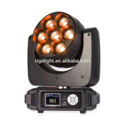 イベントのための新しい到着LEDの段階DJ軽い7*40W 4 In1 RGBW LEDのズームレンズの移動ビード