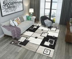 Livingroom Bedroom le tapis de plancher 3D Imprimés tapis de fleurs de pivoines Table à café jardin minimaliste moderne modèle Tapis d'épaississement de lit