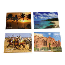 Foto-Magnet personifizierte touristische Andenken-Marokko-Andenken