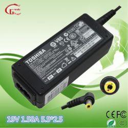 Ursprüngliche Toshiba/DELL/Acer/Liteon/HP 19V 1.58A Universal-Wechselstrom-Gleichstrom-Laptop-Adapter-Laptop-Aufladeeinheit