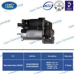 Pomp OE van de Compressor van de Opschorting van de Lucht van de Delen van de fabriek de Auto: A1663200104 A1663200204 voor Benz van Mercedes W166