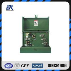 Einphasig-Auflage-Eingehangener ölgeschützter Transformator 100kVA