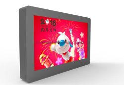 야외 노천에서 바람을 맞이 55인치 와이파이 LCD 광고 키오스크 광고 디스플레이