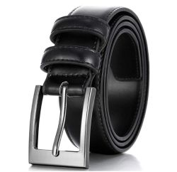 Custom Men's Black Brown Belt