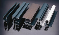 6063 T5 puertas y ventanas de la extrusión de perfiles de aluminio de aleación de aluminio/ Productos