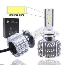 Indicatore luminoso del faro dell'automobile LED di H11 H7 con la lampadina NASCOSTA automatica 9006 del xeno del chip dello S1 Zes 9006 H13 e kit NASCOSTO