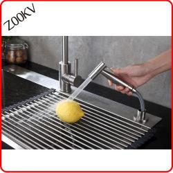 مطبخ شريكات [ستينلسّ ستيل] يد - يمسك [كيتشن سنك] يغسل مرشّ وابل مزيج مطبخ صنبور