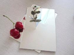 1mm-1.3mm 3-5mm Aluminium-Tafelglas-/Float-Glaswand-Spiegel für Badezimmer