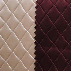 Semi-cuir synthétique pour la fabrication de sacs, Uphostery, canapé, la décoration.