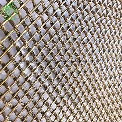 Câble métalliques décoratifs façade architecturale mur Rideaux de diviseurs de la salle de maillage