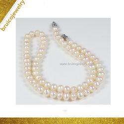 الصين [جولّري] صناعة فضة/نوع ذهب يد - يجعل لؤلؤة خانق مجوهرات عقد لأنّ نساء