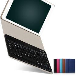 für 2017 2018 neuer iPad 9.7 Tastatur-lederner Kasten-Deckel abnehmbare Bluetooth drahtlose Tastatur für Apple iPad
