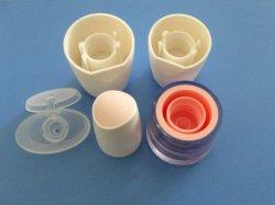 Tapón de rosca personalizados de cosméticos de moldeo por inyección de la tapa del vaso de plástico