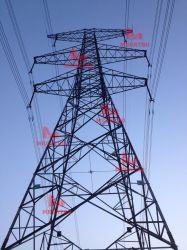 Torens van het Staal van de Transmissie van de Raaklijn van de Kring van de Lijn van Megatro 500kv 5e4 de Dubbele Pylon