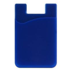 홍보용 맞춤형 인쇄 로고 휴대폰 실리콘 카드 포켓 지갑 3m 테이프 사용
