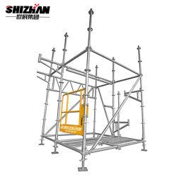 L'Échafaudage mobile en aluminium de haute qualité, de la tour d'échafaudages