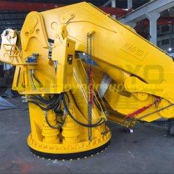 Équipement du pont de la rampe pliable Haoyo flexible de grue de manutention du fret