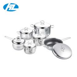 鍋の一定のステンレス鋼201の調理器具を調理する12PCS