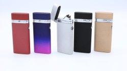 満たされた電子USBのライター、熱い販売USB二重アークライター、再充電可能なUSBのライター