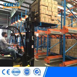 Certificado de almacenamiento de la Lanzadera automática de TUV estanterías para centro logístico