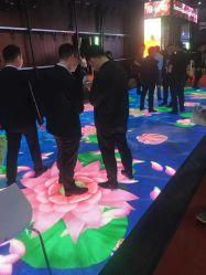 Interactieve LEIDEN van de Tegels van de Vloer P6.25/P5.02 van de luxe Lichte omhoog Gevoelige VideoDance Floor