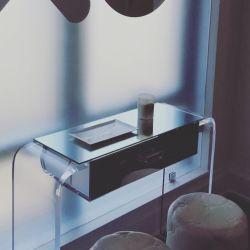 Heißer verbiegender Table#Small MOQ#Plexiglass Table#Square Acryltisch