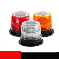 LED solar Luz estroboscópica de advertencia de seguridad de la construcción de la solución para el tráfico
