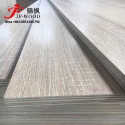 Mobilier Matériel Prelaminated Fancy face haute brillance gaufré Matt de placages en bois dur de peuplier Combi de papier d'Eucalyptus Chine Fabricant d'usine de contreplaqué de mélamine