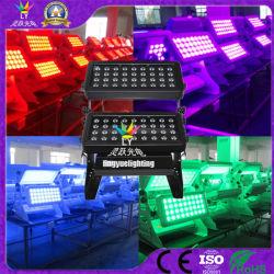 China barato 72X12W City cor LED de exterior Luzes Estágio